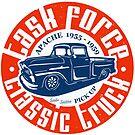 Task Force Apache Classic Truck 1955 - 1959 von SAVALLAS