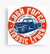 Task Force Apache Classic Truck 1955 - 1959 Leinwanddruck