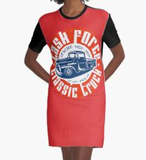 Task Force Apache Classic Truck 1955 - 1959 T-Shirt Kleid