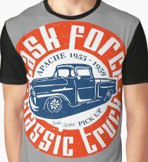 Task Force Apache Classic Truck 1955 - 1959 Grafik T-Shirt
