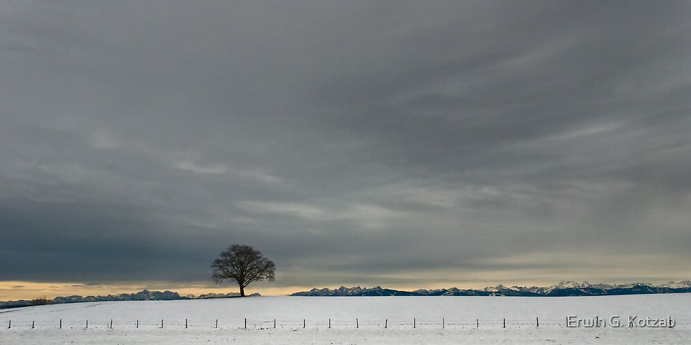 Wintertag (Allgaeu) by Erwin G. Kotzab