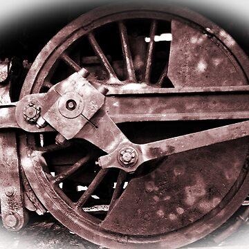 Powered Driving Wheel by woodeye518