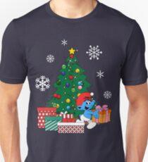 Smurf Around The Christmas Tree Unisex T-Shirt