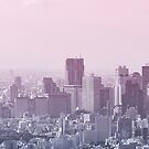 Pink Sky Tokyo by Guillaume Marcotte