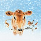 Christmas cow by Maria Tiqwah by Maria Tiqwah