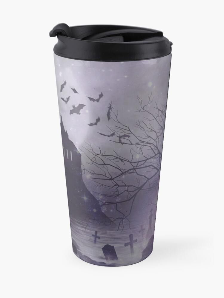 Alternate view of BOTF background Travel Mug