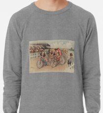 Sudadera ligera Ilustración de carrera ciclista vintage (1895)