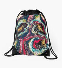 Abstract trees Drawstring Bag