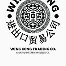 Wing Kong - Großes Problem im kleinen China Black von Candywrap Design