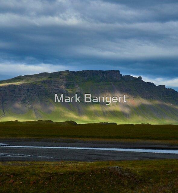 Mountain near Skaftafell, Iceland by Mark Bangert