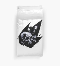 Seeds and Bones Duvet Cover