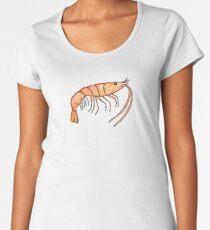 Prawn: Fish of Portugal Women's Premium T-Shirt