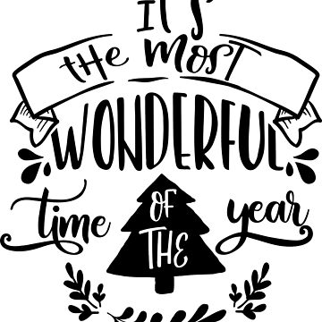 Its The Most Wonderful Time Of The Year by JakeRhodes