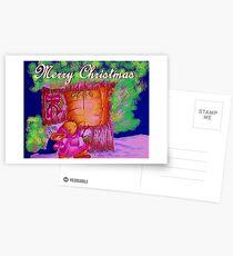 THE TIME OF CHRISTMAS Postcards