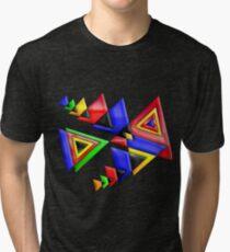 TRIANGLE BUNT Tri-blend T-Shirt