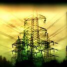 Pylons by Lynne Haselden