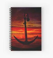 """""""The Anchor Holds"""" Spiral Notebook"""