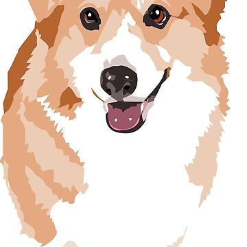Perro corgi de bluhak