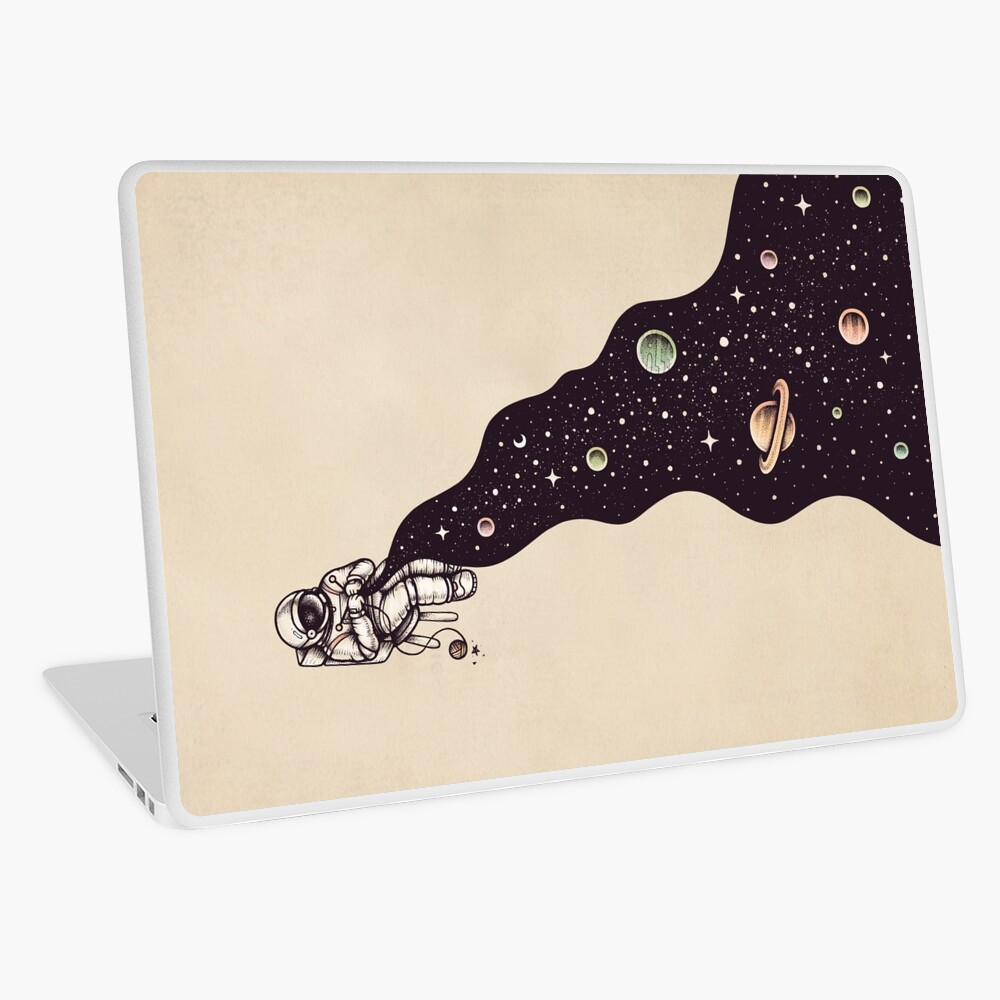 Universe is Knit Laptop Skin