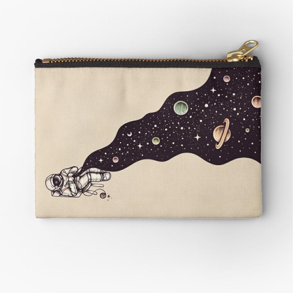 Universe is Knit Zipper Pouch