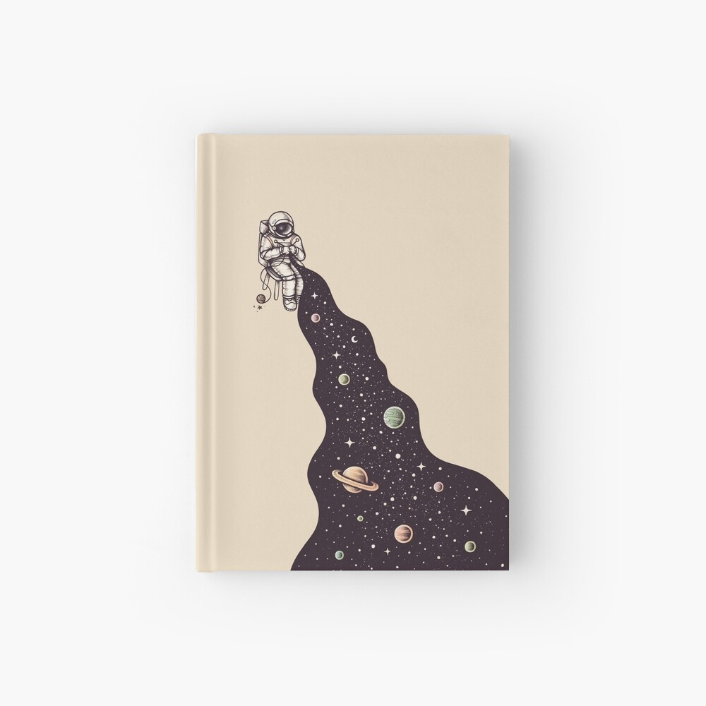 Universe is Knit Hardcover Journal