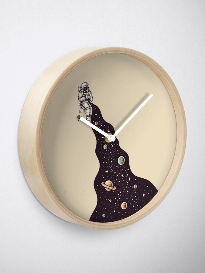 Alternate view of Universe is Knit Clock