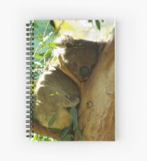 Hold Your Chin Up Spiral Notebook