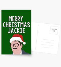 merry christmas jackie . Postcards
