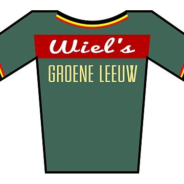 Retro Jerseys Collection - Groene Leeuw by ndaqb