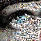 EYE mosaic by Olly  Pirozek