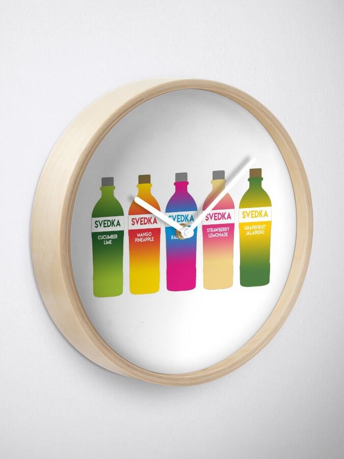 Alternate view of Svedka flavors Clock