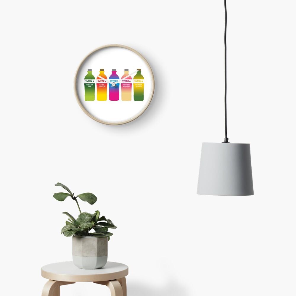 Svedka flavors Clock