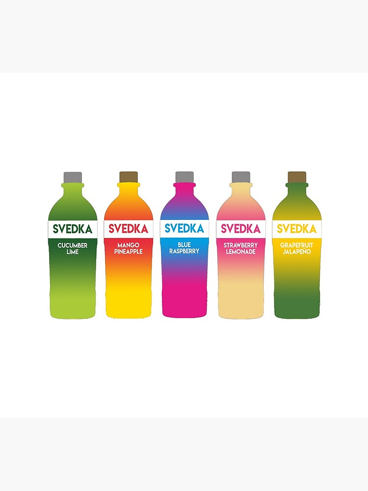 Svedka flavors by richterr