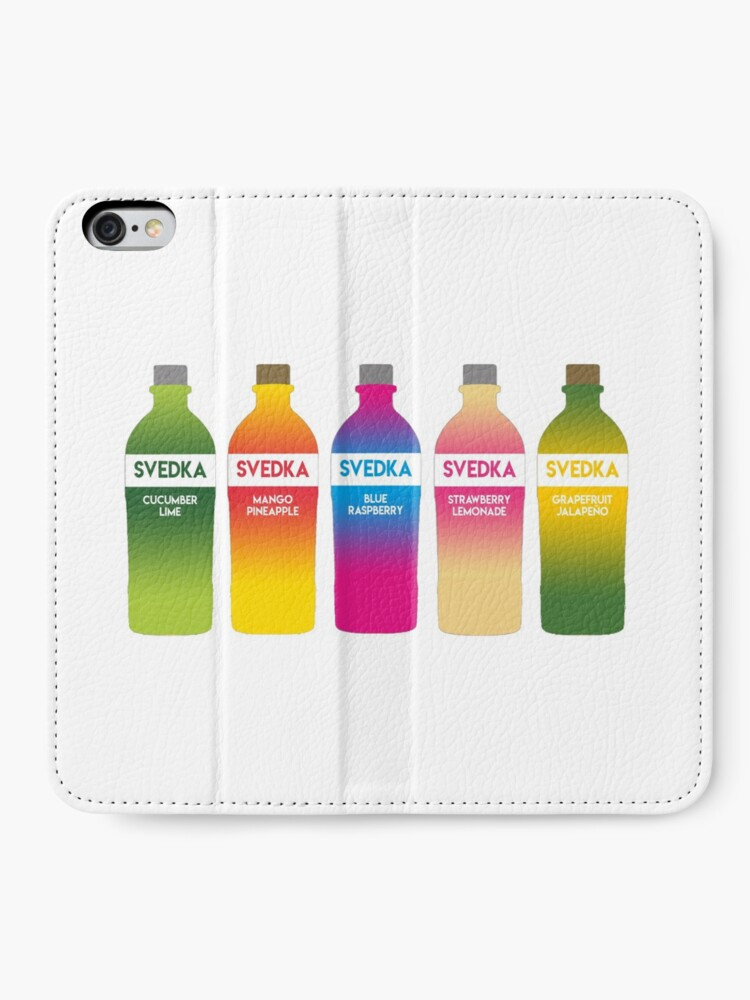 Alternate view of Svedka flavors iPhone Wallet