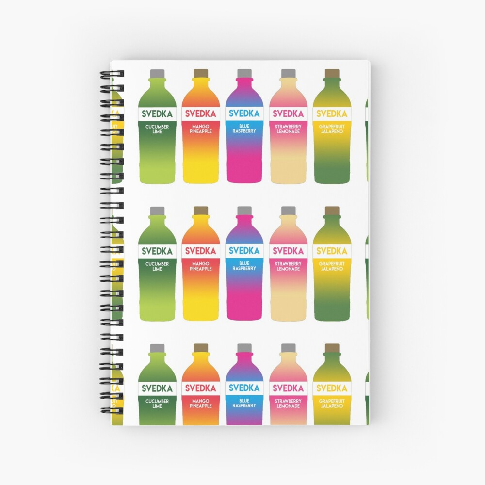 Svedka flavors Spiral Notebook