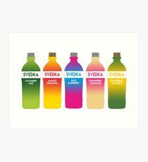 Svedka flavors Art Print