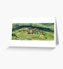 an unbelievable Madagascar landscape Greeting Card