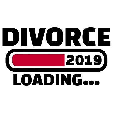 Divorce 2019 loading by Designzz