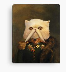 Persian Cat Emperor Canvas Print