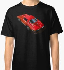 1963 Corvette Split Window Fastback Red Classic T-Shirt