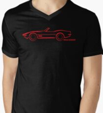 1968 Corvette Convertible Red T-Shirt