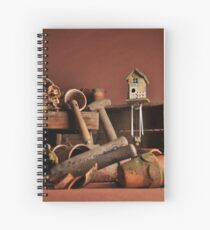 Garden Shed Spiral Notebook