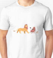 Der König der Löwen - Timón, Pumba, Simba Unisex T-Shirt