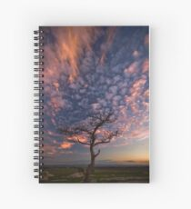 Flame Tree Spiral Notebook