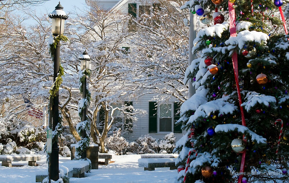 Happy Holidays from Ogunquit by Monica M. Scanlan