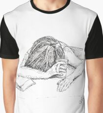 Exhausted - Sketch by Laura Jaen Graphic T-Shirt