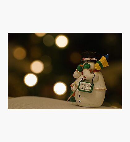 Happy Christmas  Photographic Print