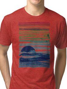 sea landscape Tri-blend T-Shirt