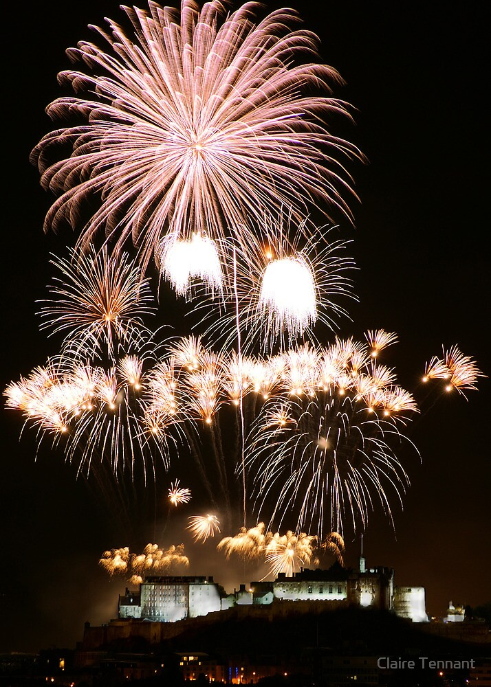 Fireworks Show by Claire Tennant