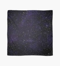 Northern Hemisphere Constellations Scarf